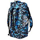"""Сумка-рюкзак Adidas 2in1 Bag """"Taekwondo"""" Nylon, adiACC052 Синяя, фото 2"""