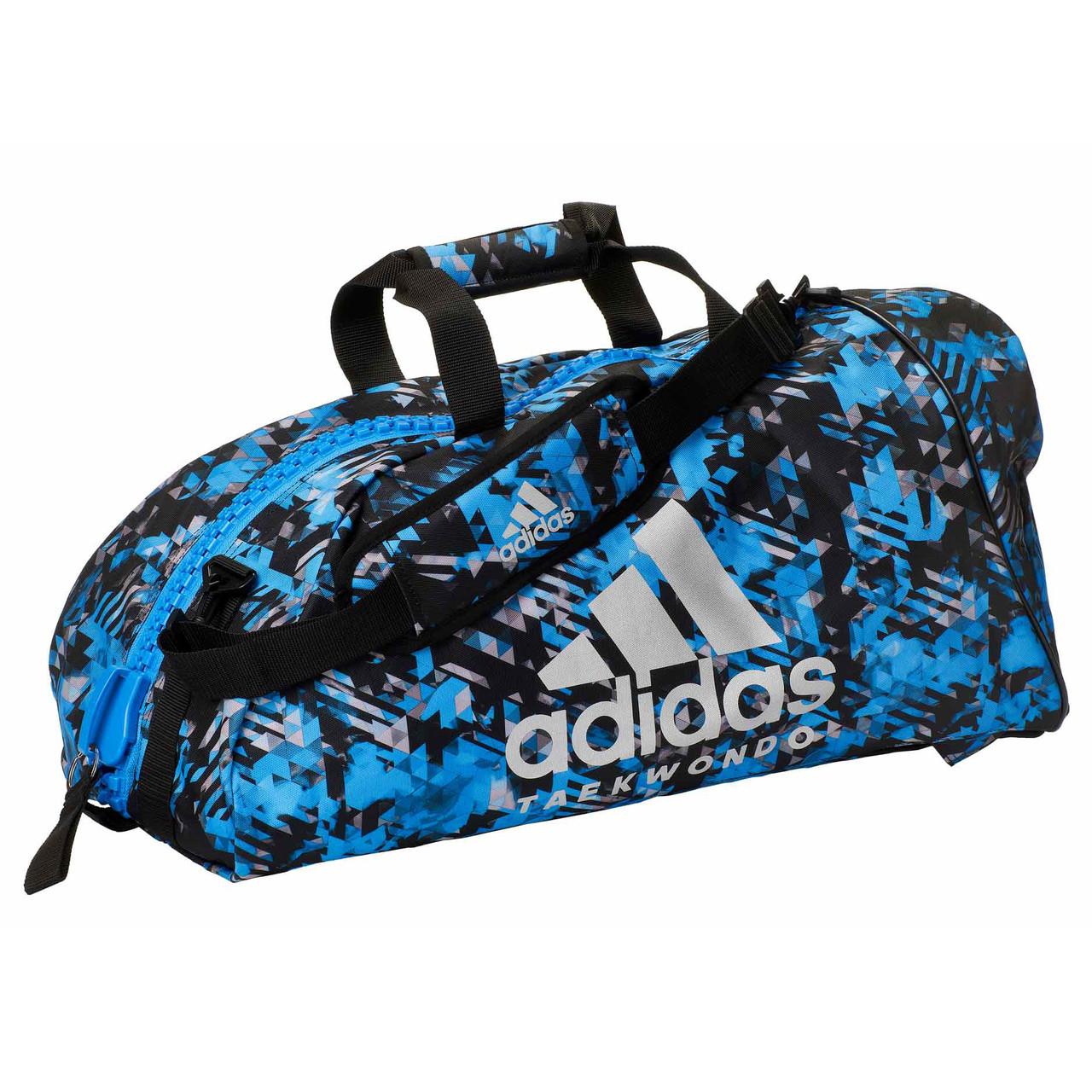"""Сумка-рюкзак Adidas 2in1 Bag """"Taekwondo"""" Nylon, adiACC052 Синяя"""
