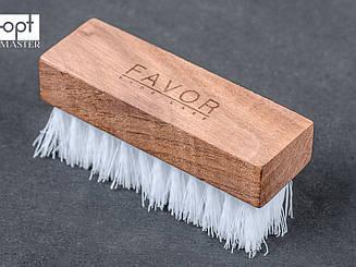 Щетка обувная FAVOR, мягкая искусственная щетина, 9,2*3,1 см