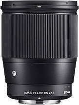 Sigma 16mm f / 1.4 DC DN Современный объектив для Sony, фото 2