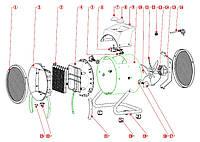 Запчасти для электрической пушки KINLUX BGP-03