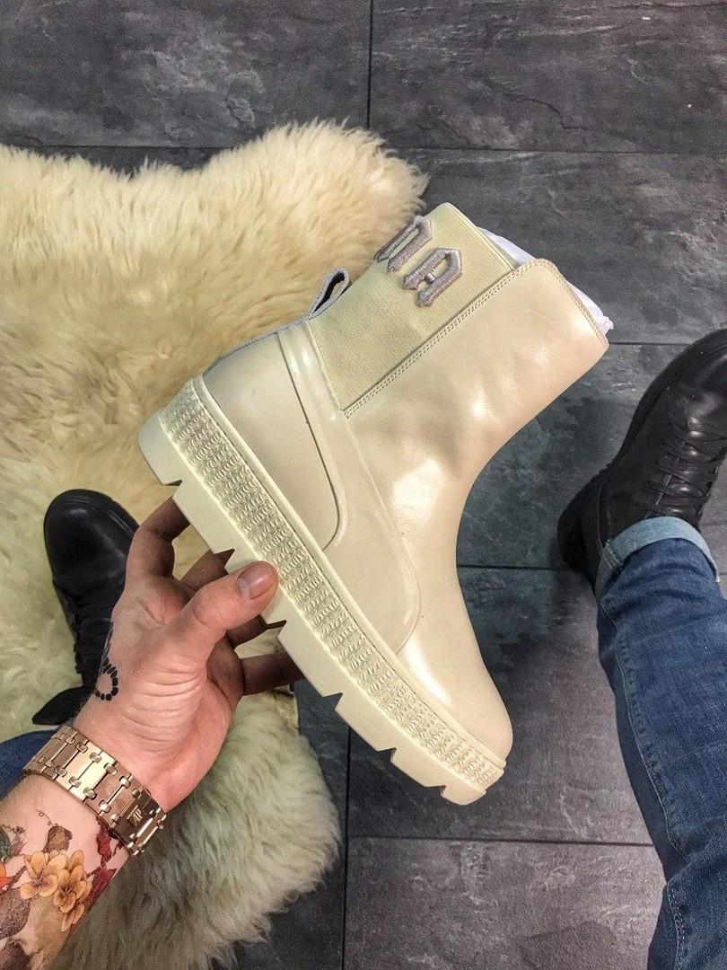 "Женские ботинки Puma By Rihanna Chelsea Sneakers Boot ""vanilla lce"""