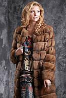 Шуба полушубок из соболя с отстежным подолом sable jacket fur coat , фото 1