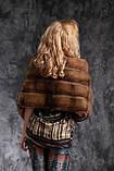 Шуба полушубок из соболя с отстежным подолом sable jacket fur coat , фото 8