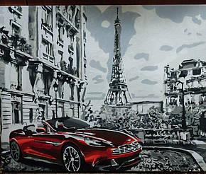 Картина за номерами Парижское утро GX26761 у виконанні Марії Гордій 1