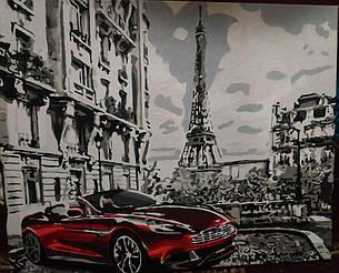 Картина за номерами Парижское утро GX26761 у виконанні Марії Гордій 2