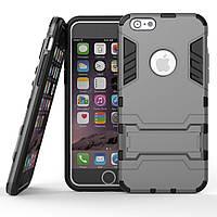 Чехол Iron для Iphone 6 / 6s бронированный бампер Броня Gray, фото 1
