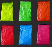 Флуоресцентные пигменты для геля акрила лака био тату 50 г. светятся в ультрафиолете, фото 1