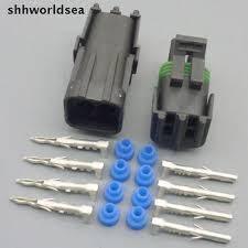 Разьем 4-х контактный датчика кислорода ВАЗ, фото 3