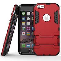Чехол Iron для Iphone 6 / 6s бронированный бампер Броня Red, фото 1