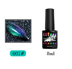 Гель-лак 9D Galaxy Cat Eye Francheska, 8 ml