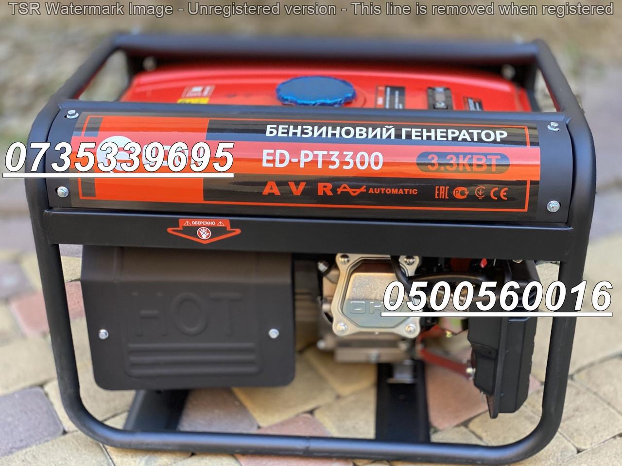 Электрогенератор бензиновый Edon ED-PT3300 3.3 kW медная обмотка