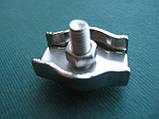 Нержавеющий одинарный зажим SIMPLEX для троса, А4 (AISI 316)., фото 5
