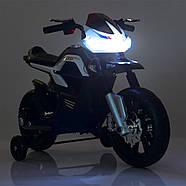 Детский мотоцикл Bambi JT5158-3 красный Гарантия качества Быстрая доставка, фото 6