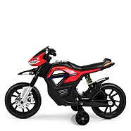 Детский мотоцикл Bambi JT5158-3 красный Гарантия качества Быстрая доставка, фото 4