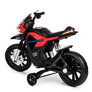 Детский мотоцикл Bambi JT5158-3 красный Гарантия качества Быстрая доставка, фото 5