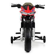 Детский мотоцикл Bambi JT5158-3 красный Гарантия качества Быстрая доставка, фото 3