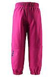 Демисезонные брюки для девочки Softshell Reima Oikotie 522285-4650. Размеры 92 - 140., фото 2