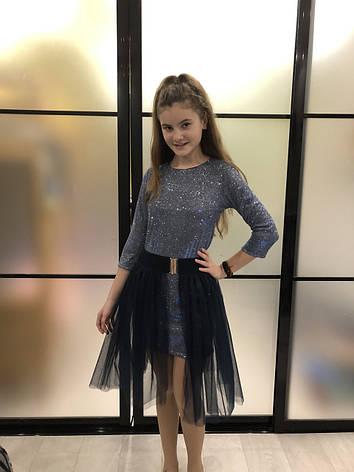 Платье нарядное для девочки р.128-152 опт, фото 2