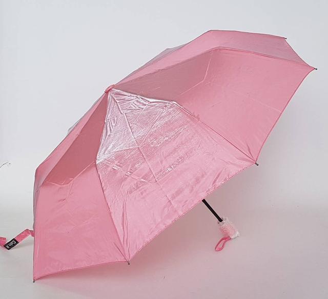 фотография женский зонт хамелеон пудрового цвета