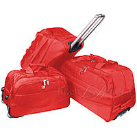 Комплект дорожных сумок на колесах от производителя Sutton 3в1