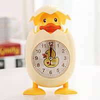 Детские настольные часы-будильник Утенок, Дитячі настільні годинники-будильник Каченя
