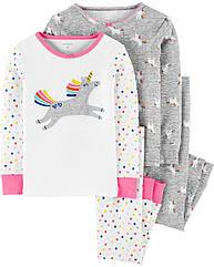 """Пижамы Carter's для девочки """"Единорог"""" , пижама картерс"""