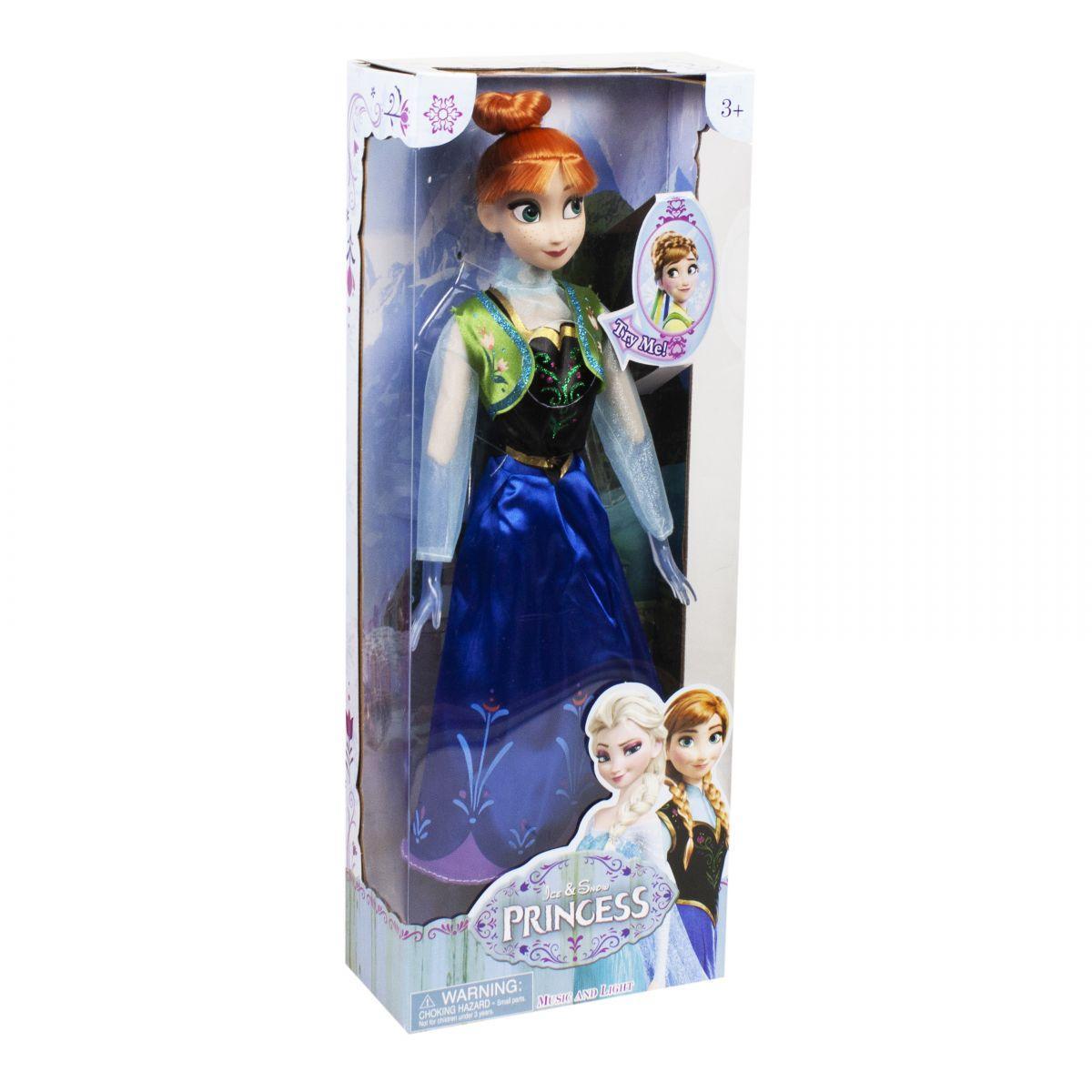 Кукла Анна Frozen большая музыкальная