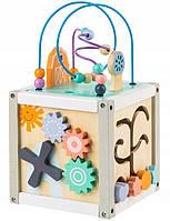 Сортер деревянный Интерактивные игрушки EcoToys