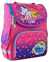 Детский рюкзак Smart PG-11 Unicorn каркасный для девочки