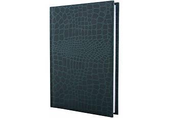 Щоденник недатований, А5, Croco, зелений