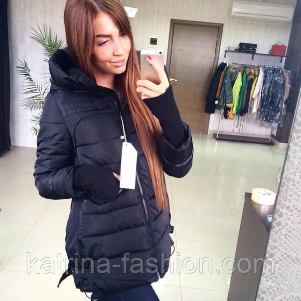 a763fb7d48c Женская стильная куртка (осень-зима) - KATRINA FASHION - оптовый интернет -магазин