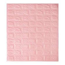 3D Панель для стен:цвет однотонный (под кирпич) лофт (самоклеящиеся), фото 2