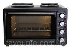Электропечь - духовка с двойной плитой  Adler AD 6020 2500 Вт