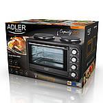 Электропечь - духовка с двойной плитой  Adler AD 6020 2500 Вт, фото 9