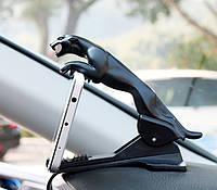 Держатель для телефона в автомобиль Черная пантера, Тримач для телефону в автомобіль Чорна пантера
