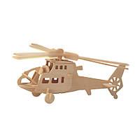 3D Деревянный конструктор. Модель Вертолет, 3D Дерев'яний конструктор. Модель Вертоліт