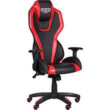 Кресло VR Racer Atom чёрно-красный AMF