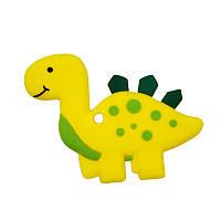 Прорезыватель Динозаврик, желтый Berni