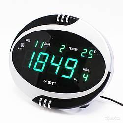 Говорящие сетевые часы VST 770 Т-4 — Настольное и настенное крепление
