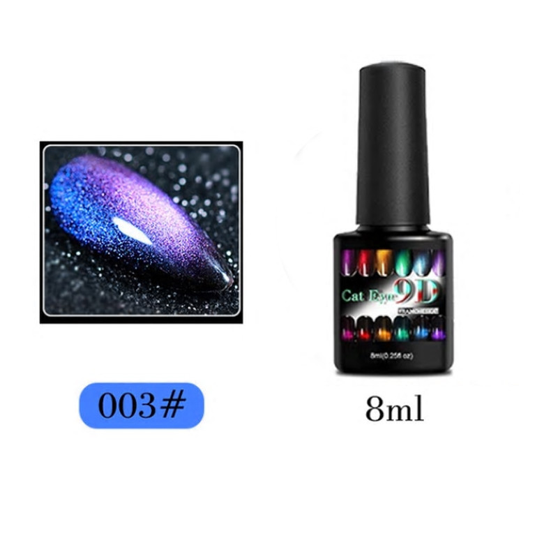 Гель-лак 9D Galaxy Cat Eye Francheska 003, 8 ml