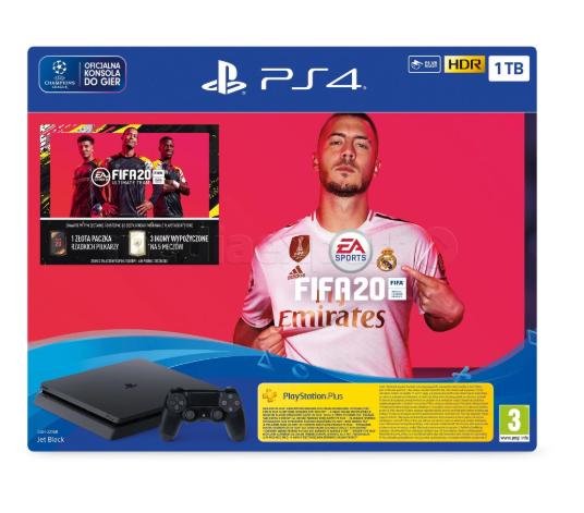 Консоль SONY PlayStation 4 Slim 1TB + игра FIFA 20