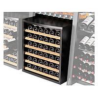 Стеллаж для хранения вина Eurocave OMS1 Встроенный шкаф с выдвижными  поддонами