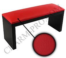 Маникюрная подставка для рук (Подлокотник) Черно-красного цвета