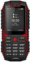 Телефон Sigma mobile X-treme DT68 Black-Red, фото 1
