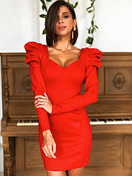 "Платье ""Платинум джерси ""  Размер XS, S, M. Разные цвета (10121)"