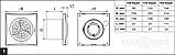 Вентилятор в ванную Вентс 100 Квайт ТН с датчиком влажности (VENTS 100 Quiet TH), фото 6