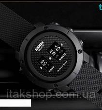 Cпортивные часы Skmei Drum 1486 Черные, фото 2