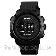 Cпортивные часы Skmei Drum 1486 Черные, фото 3