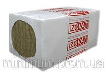 Фасадная базальтовая вата IZOVAT 135 1000х600х100 мм, (2 шт/уп, 1,2 м2)